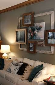 large scale framed easy ways to beautify family room wall