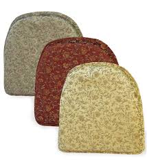 Chair Pads Damask Pattern Non Slip Chair Pad Chair Pads Cushions