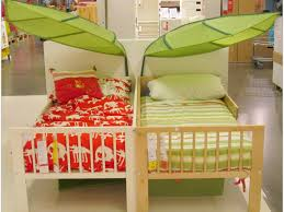 toddler bed unique remodel ikea beds for kids leafs nature