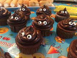 chocolate emoji emoji birthday party chocolate emoji poo cupcakes emma u0027s