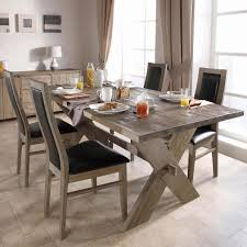 modern rustic dining table trend as reclaimed wood dining table