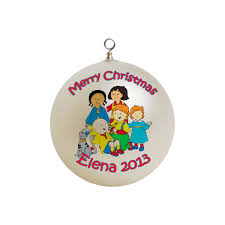 personalized caillou christmas ornament custom gift 2