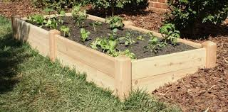 Cedar Raised Garden Bed Marleywood Cedar Raised Garden Bed 4 U0027x8 U0027 11