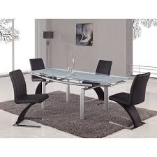 stainless steel dining room tables comely white shiny classic dining table modern extendable in color
