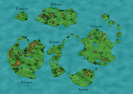Fantasy World Map by Raikjuem Random Fantasy World Map