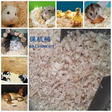 home used ce small mobile wood shaving machine for animal bedding