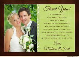 personalized cards wedding pink brown wedding photo thank you card s