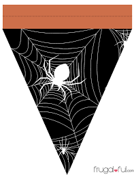 halloween web template diy free printable halloween triangle banner template u2013 frugalful
