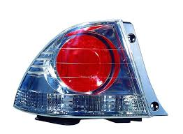 lexus is300 tail lights amazon com lexus is300 replacement tail light unit metallic