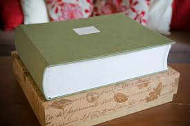 large photo album bespoke wedding albums