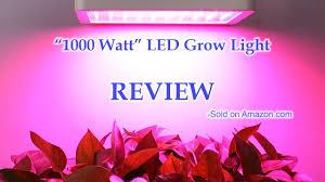 1000 watt led grow lights for sale 1000 watt led grow light by colofocus review youtube