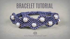 macrame bracelet tutorials images Diy macram wave bracelet with beads tutorial jpg