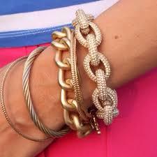 classic link bracelet images J crew jewelry j crew classic pave link bracelet poshmark jpg