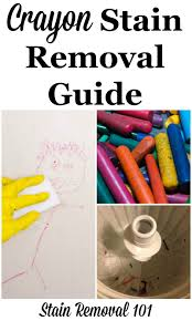 Best Clothing Stain Remover Crayon Stain Removal Guide For Clothing Upholstery Carpet U0026 More