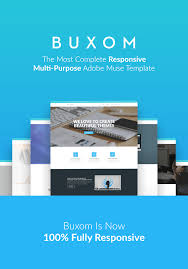 buxom responsive multi purpose muse template by a2d themeforest