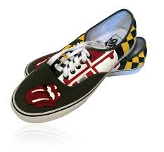 Maryland Flag Vans Vans Authentic Full Red Pizza Vans Shoes India