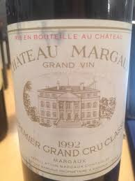 chateau margaux i will drink 1992 château margaux bordeaux médoc margaux cellartracker