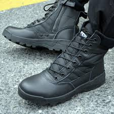 new us military leather boots for men combat bot infantry tactical