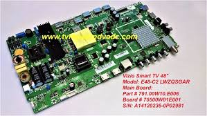how to reset vizio tv vizio scaler board 791 00w10 e006 tested 100 good reset system tip