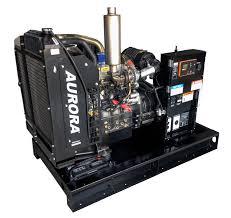 aurora built tough diesel generators
