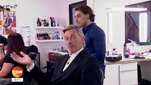 kem cetinay gives richard madeley his first new haircut in 40