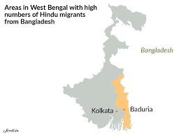 Hinduism Map Mission Bengal Hindu Immigrants From Bangladesh Are A Key