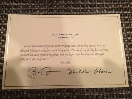 wedding wishes reddit this is what happens when you invite president obama to your