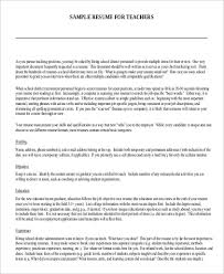 format for resume sample 9 examples in word pdf