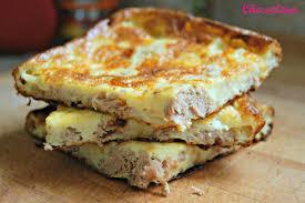 cuisiner avec rien dans le frigo quiche sans pâte au thon de corinne le de chococlara