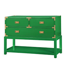 Green Console Table Tansu Console Table Emerald Green Bungalow 5 Brassy And