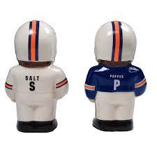 Novelty Salt And Pepper Shakers Salt U0026 Pepper Shaker Football Player Design Nfl Denver Broncos