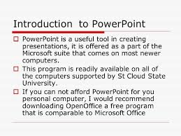 introduction to powerpoint how to make a powerpoint project introduction to powerpoint
