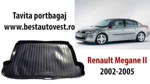 renault megane 2005 sedan tavita portbagaj renault megane sedan ii 2002 2005 youtube