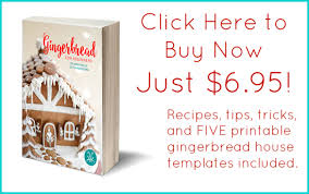 standard gingerbread house free printable template tikkido com