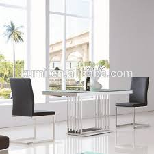 steel dining table set stainless steel glass dining table set view stainless steel dining