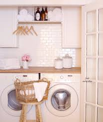 Laundry Room Closet by Under 500 Laundry Room Renovation Reveal French Country Cottage