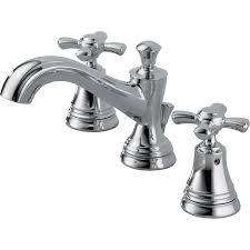 shop delta nura chrome 2 handle widespread watersense bathroom