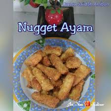 membuat nugget ayam pakai tepung terigu nugget ayam