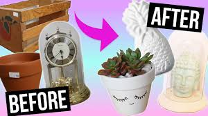 thrift store diy home decor diy room decor thrift store flip youtube