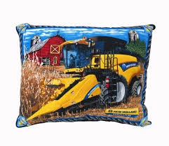 holland combine throw pillow with barn
