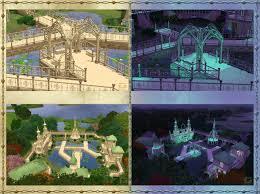 Elvish Home Decor Mod The Sims Elven Set Part I Build Mode