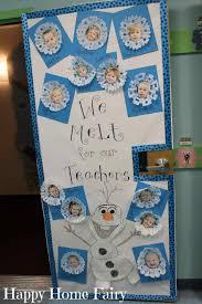 winter door decorations elementary