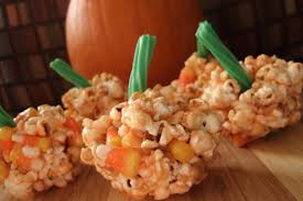 easy halloween popcorn images reverse search