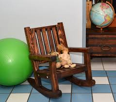 Rocking Chair Old Fashioned Kids Wooden Rocking Chair Sturdy Redwood Kids Chair