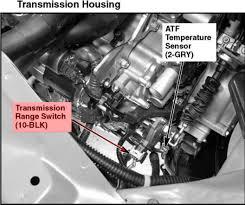 p1717 honda transmission range switch switch circuit open