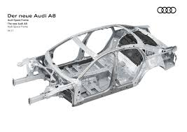 2018 audi a8 body structure boron extrication