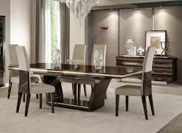 Dining Room Sets Contemporary by Appealing Italian Dining Table Sets Ebony Modern Dining Set