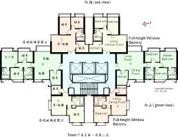 university floor plan floor plan of university heights gohome com hk