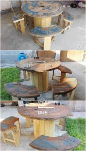 innovative diy ideas for wood pallet reusing recycled things
