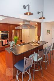 Modern Cherry Wood Kitchen Cabinets Best 20 Contemporary Peninsula Kitchens Ideas On Pinterest